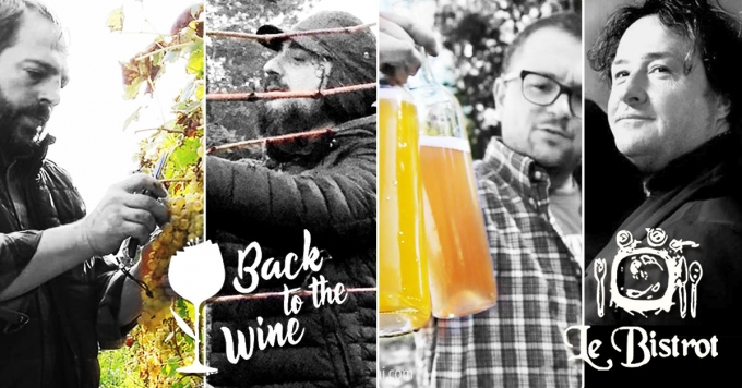 8 nov 2018 Vino Artigianale, Cena Evento pre-Back to the Wine